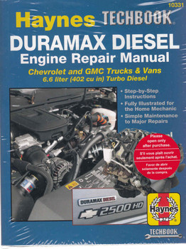 Duramax Diesel Engine Repair Manual (Techbook Series) (9781620920435)