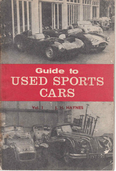Guide to Used Sports Cars Vol.1 (J.H.Haynes) (b002muoi5e)