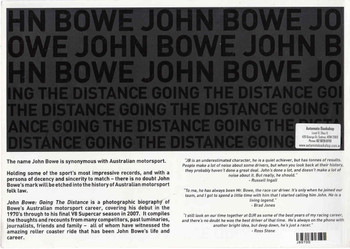 John Bowe: Going The Distance - Limited Numbered Edition