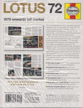 lotus 72 1970 onwards owners workshop manual rh automotobookshop com au John Player Special Lotus Lotus 98T