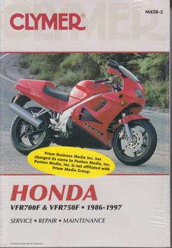 Honda VFR700F VFR700F2 & VFR750F 1986 - 1997 Workshop Manual