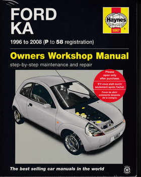 Ford Ka 1996 to 2008 Owners Workshop Manual (9780857339119)