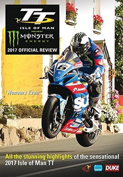 TT 2017 Isle Of Man Official Review DVD (5017559129897)