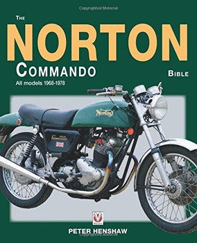 The Norton Commando Bible All models 1968 - 1978 (9781787110069)