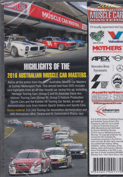 2016 Australian Muscle Car Masters DVD (9340601001770)