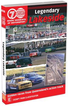 Legendary Lakeside DVD - Magic Moments of Motorsport (9340601001923)