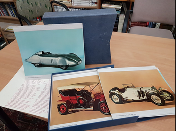 Von Anfang an dabei. Modelle der ältesten Automobilfabrik der Welt. (Mercedes-Benz Photo Prints)