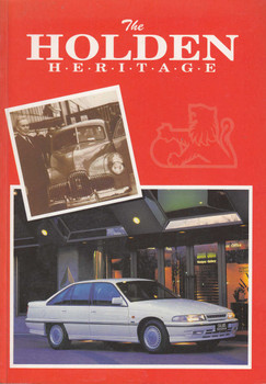 The Holden Heritage - October 1992 Edition (9780947079345)