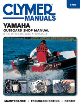Yamaha 6-100 HP Four-Stroke 1985-2013, Outboard Shop Manual