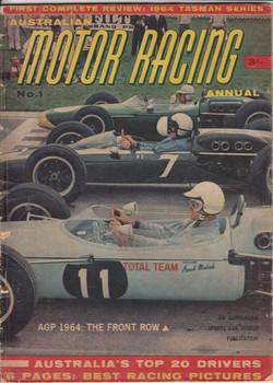 Australian Motor Racing Annual 1964, No 1, First Complete Review, Tasman Series