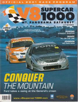 V8 Supercar 1000 Mount Panorama 4 - 7 October 2001 - Official Race Program