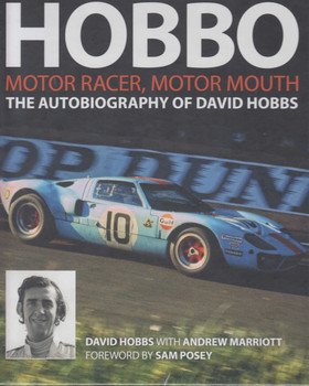 Hobbo, Motor Racer, Motor Mouth, The Autobiography of David Hobbs