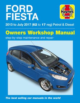 Ford Fiesta Petrol & Diesel (62 to 17 reg) 2013 - 2017 Workshop Manual