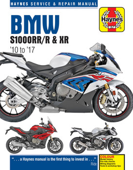 BMW S1000RR S1000R S1000XR 2010 - 2017 Workshop Manual