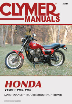 Honda VT500FT Ascot, VT500C Shadow, VT500E Euro Sport 1983 - 1988 Workshop Manual