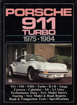 Porsche 911 Turbo, 1975 - 1984 (Brooklands Books Road Tests Series, 1 Oct 1985) (9780948207174)