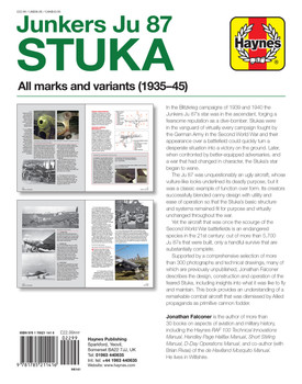 Junkers Ju 87 Stuka All marks and variants 1935 - 45 Owners' Workshop Manual