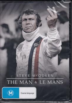 Steve McQueen The Man & Le Mans Documentary DVD