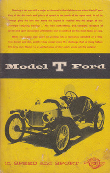 Model T Ford in speed and Sport 1974