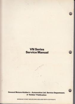 Holden Commodore Calais VN Series Repair Service Workshop Manual (Vol 2)