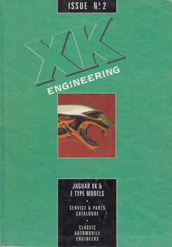 XK Engineering Jaguar XK &E Type Models Issue No2 Service & Parts Catalogue
