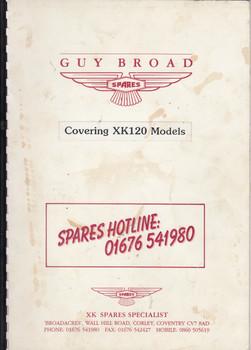 Jaguar XK120 Parts Catalogue