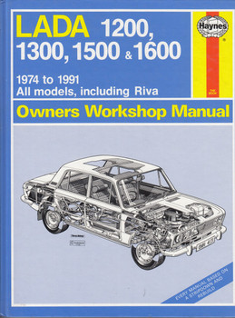 Lada 1200, 1300, 1500, 1600 1974 - 1991 (All models, incl. Riva) Workshop Manual