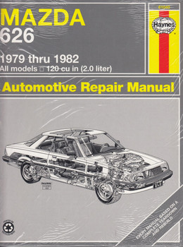 Mazda 626 1979 through 1982 All models 120 cu in ( 2.0 liter) Workshop Manual