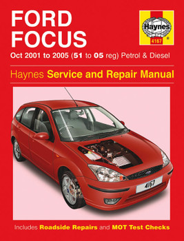 Ford Focus Petrol & Diesel (Oct 2001 - 2005) Haynes Repair Manual