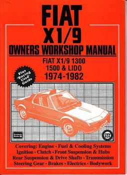 Fiat X1|9 1974 - 1982 Workshop Manual