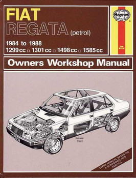 Fiat Regata Petrol 1984 - 1988 Workshop Manual
