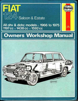 fiat workshop manuals rh automotobookshop com au Fiat 850 Sport Spider Fiat 124