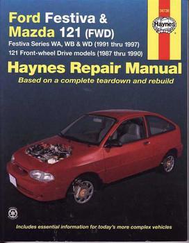 Ford Festiva Wa Wb Wd Mazda  Workshop Manual