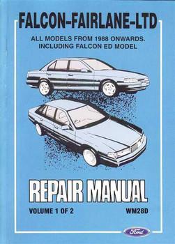 ford australia workshop manuals rh automotobookshop com au Giant Ford Van Ford Econovan 2500D