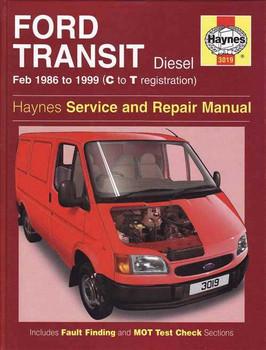Ford Transit Diesel 2.5L 1986 - 1999 Workshop Manual
