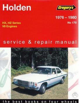 Holden V8 Engines 1976 - 1980 Workshop Manual