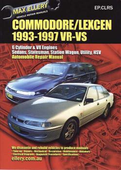 Holden Commodore & Toyota Lexcen V6 and V8 1993 - 1997 Workshop Manual