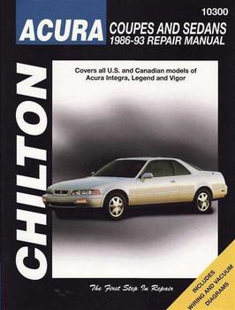 Honda (Acura) 1986 - 1993 Workshop Manual