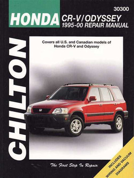 Honda CR-V, Odyssey 1995 - 2000 Workshop Manual