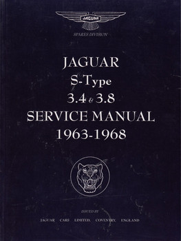 Jaguar 3.4 S and 3.8 S Models Workshop Manual 1963-1968