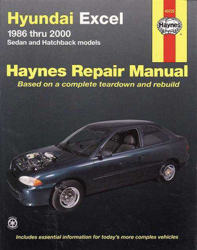 Hyundai Excel 1986 - 2000 Workshop Manual