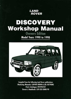 Land Rover Discovery 1990 - 1998 Workshop Manual
