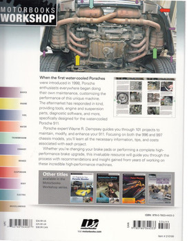 101 Projects for Your Porsche 911 (996 and 997) 1998 - 2008 Back
