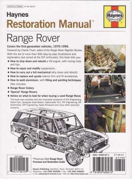 Range Rover Restoration Manual (2nd Edition)
