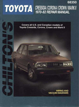 Toyota Cressida, Corona, Crown, Mark 2 1970 - 1982 Workshop Manual
