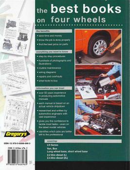 Toyota Hi-Ace LH Series 1983 - 1989 Workshop Manual