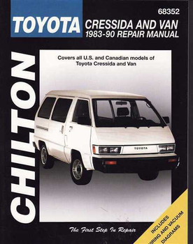 Toyota Cressida And Van 1983 - 1990 Workshop Manual