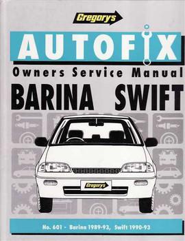 Holden Barina & Suzuki Swift 1989 - 1993 Workshop Manual