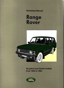 range rover workshop manual rh automotobookshop com au Resource Land Rover Land Rover Rave Manual