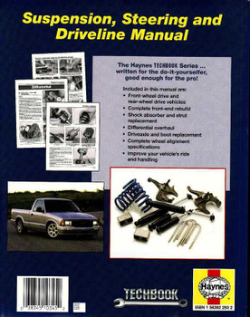 The Haynes Suspension, Steering and Driveline Manual
